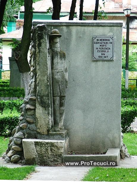Monumentul Cercetasilor Tecuci