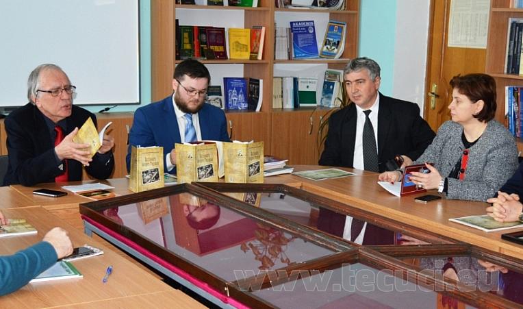 Lansarea volumului Scrisoare despre Tecuciu Cahul 2018 Burlacu Dojan